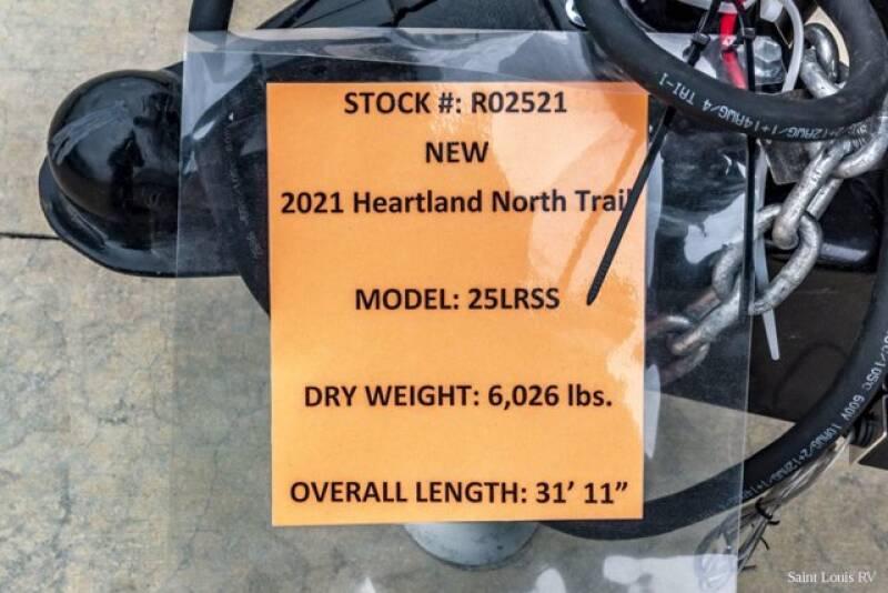 2021 Heartland NORTH TRAIL 25LRSS - Florissant MO
