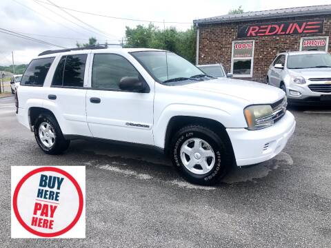 2002 Chevrolet TrailBlazer for sale at Redline Motorplex,LLC in Gallatin TN