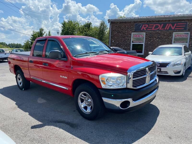 2008 Dodge Ram Pickup 1500 for sale at Redline Motorplex,LLC in Gallatin TN