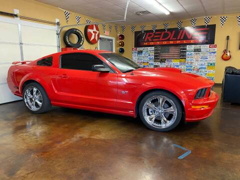 2007 Ford Mustang for sale at Redline Motorplex,LLC in Gallatin TN