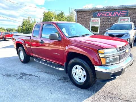 2004 Chevrolet Colorado for sale at Redline Motorplex,LLC in Gallatin TN