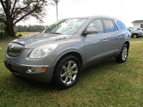 2008 Buick Enclave for sale at RAYMOND TURNER MOTORS in Pamplico SC