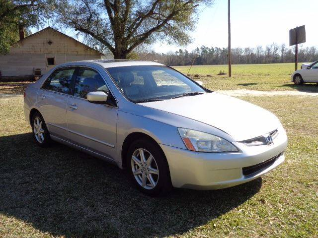 2003 Honda Accord for sale at RAYMOND TURNER MOTORS in Pamplico SC