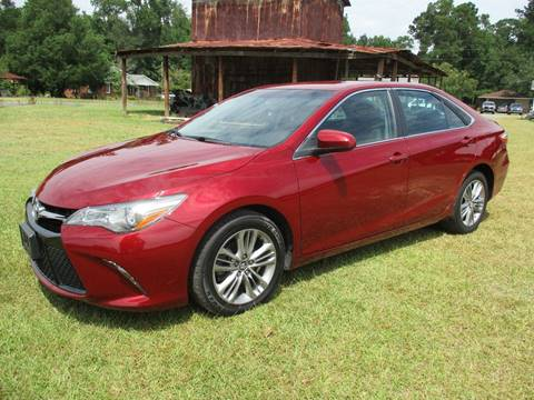 2016 Toyota Camry for sale at RAYMOND TURNER MOTORS in Pamplico SC