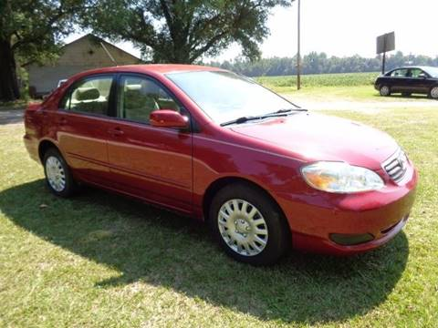 2005 Toyota Corolla for sale at RAYMOND TURNER MOTORS in Pamplico SC