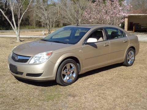 2008 Saturn Aura for sale at RAYMOND TURNER MOTORS in Pamplico SC