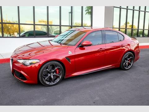 2017 Alfa Romeo Giulia Quadrifoglio for sale in Las Vegas, NV