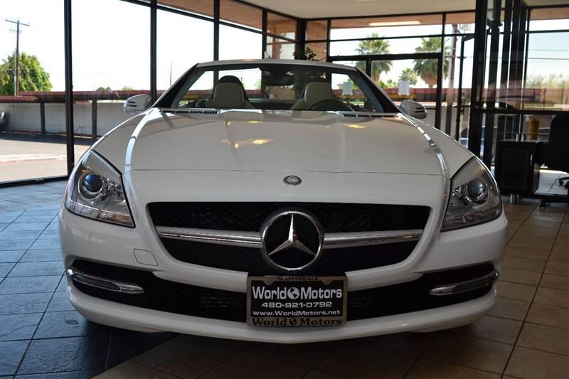 2015 Mercedes-Benz SLK SLK 250 2dr Convertible - Scottsdale AZ