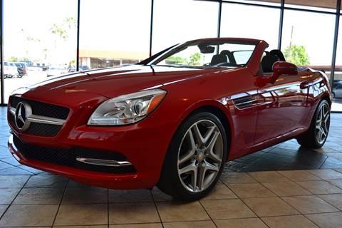 2015 Mercedes-Benz SLK for sale in Scottsdale, AZ