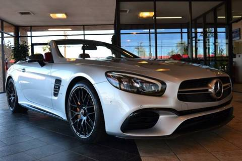 used 2017 mercedes-benz sl-class for sale - carsforsale®