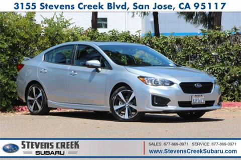 Subaru San Jose >> 2018 Subaru Impreza For Sale In San Jose Ca