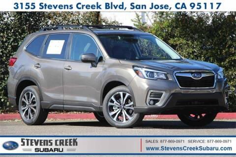 2020 Subaru Forester Limited for sale at Stevens Creek Subaru in San Jose CA