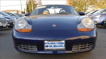 2001 Porsche Boxster for sale in San Jose, CA