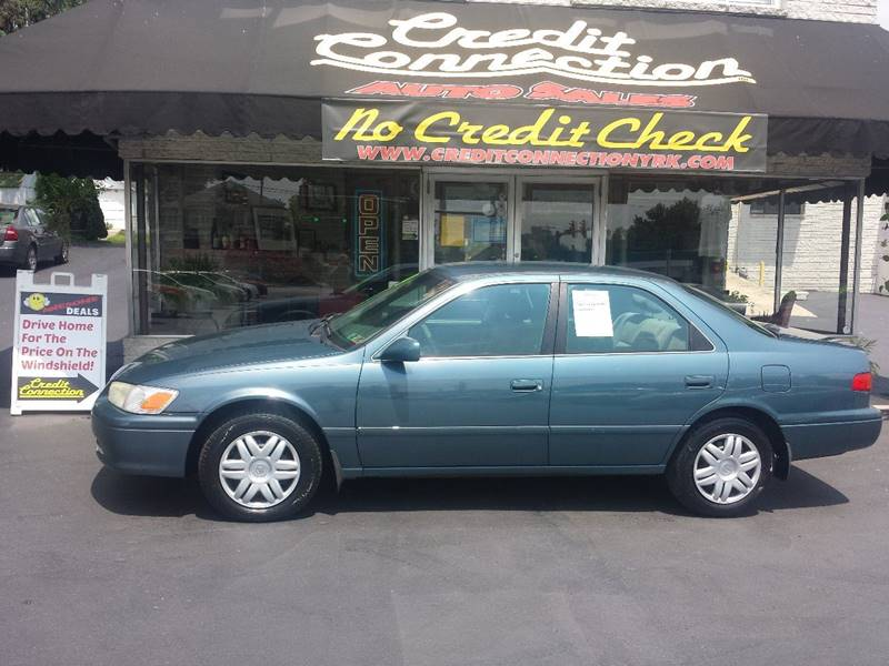 2001 toyota camry ce 4dr sedan in york pa credit connection auto sales inc. Black Bedroom Furniture Sets. Home Design Ideas