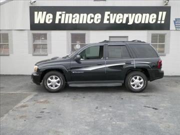 2002 Chevrolet TrailBlazer for sale at Credit Connection Auto Sales Inc. CARLISLE in Carlisle PA