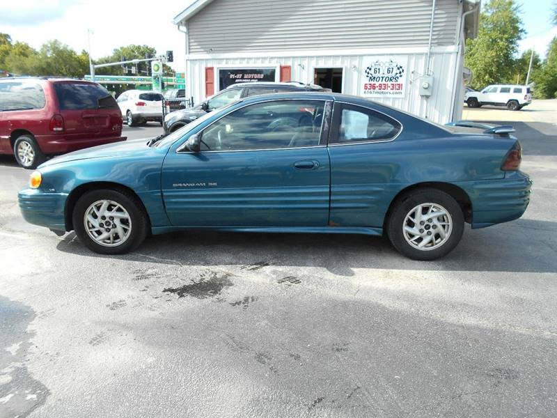 2002 pontiac grand am se1 2dr coupe in crystal city mo for 6167 motors crystal city mo