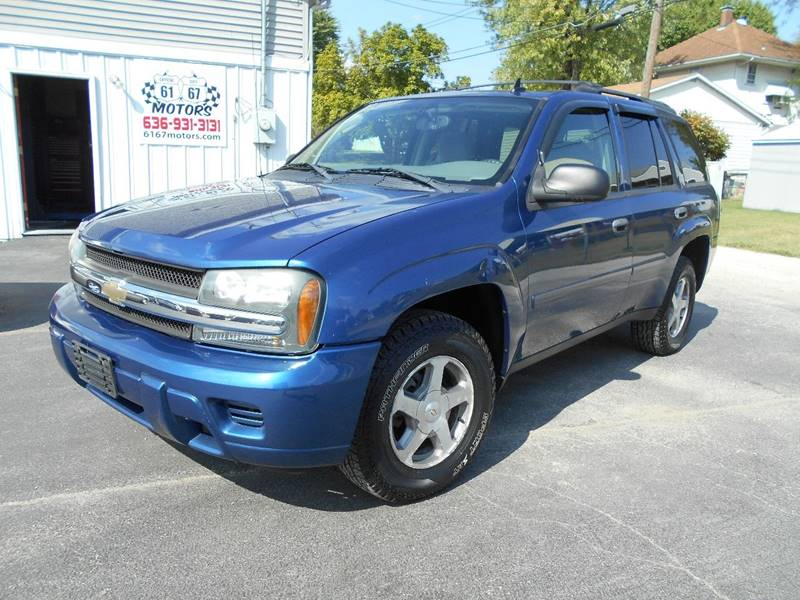 2006 chevrolet trailblazer ls 4dr suv 4wd w1sb in crystal city mo 2006 chevrolet trailblazer ls 4dr suv 4wd w1sb crystal city mo mozeypictures Images