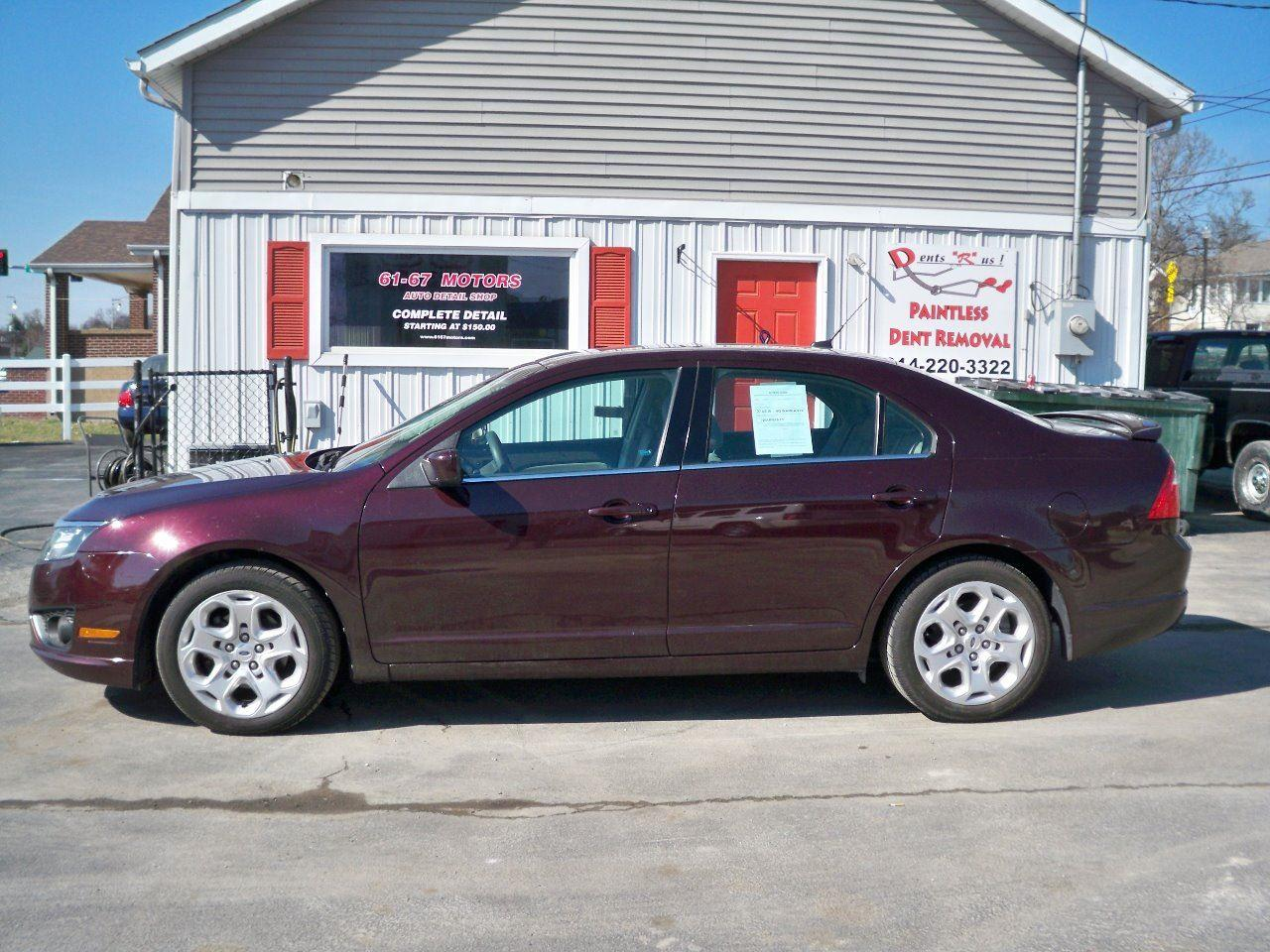 2011 ford fusion se 4dr sedan in crystal city mo 61 67