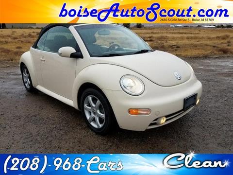 2004 Volkswagen New Beetle for sale in Boise, ID