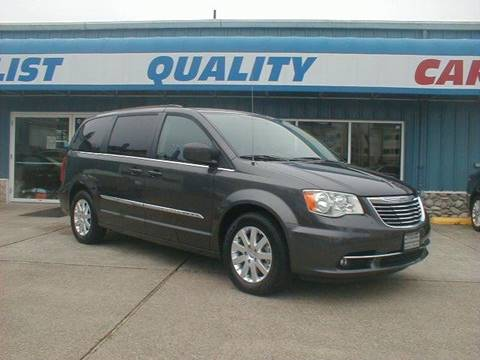 2016 Chrysler Town and Country for sale in Port Orchard, WA