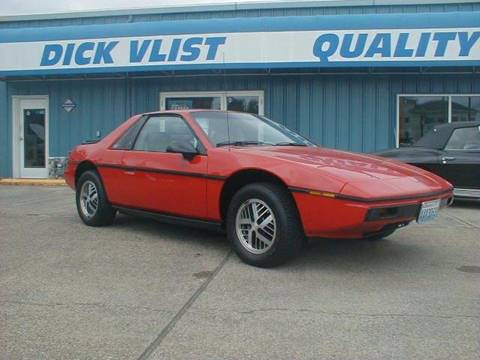 1984 Pontiac Fiero for sale in Port Orchard, WA