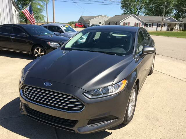 2016 Ford Fusion S 4dr Sedan - Pershing IN
