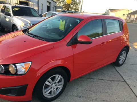 2015 Chevrolet Sonic for sale in Pershing, IN