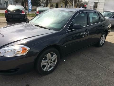 2008 Chevrolet Impala for sale in Pershing, IN