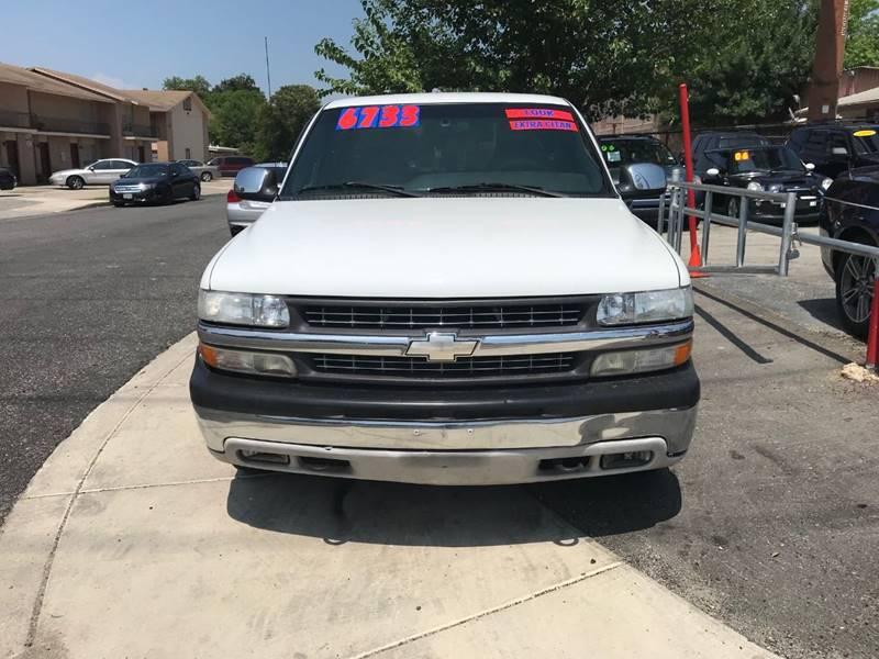 2001 Chevrolet Silverado 1500 4dr Extended Cab LS 2WD LB In San ...