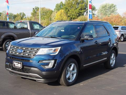 2017 Ford Explorer for sale in Cortland, OH