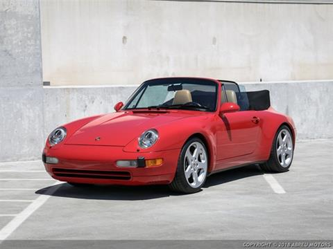 1995 Porsche 911 for sale at Abreu Motors in Carmel IN