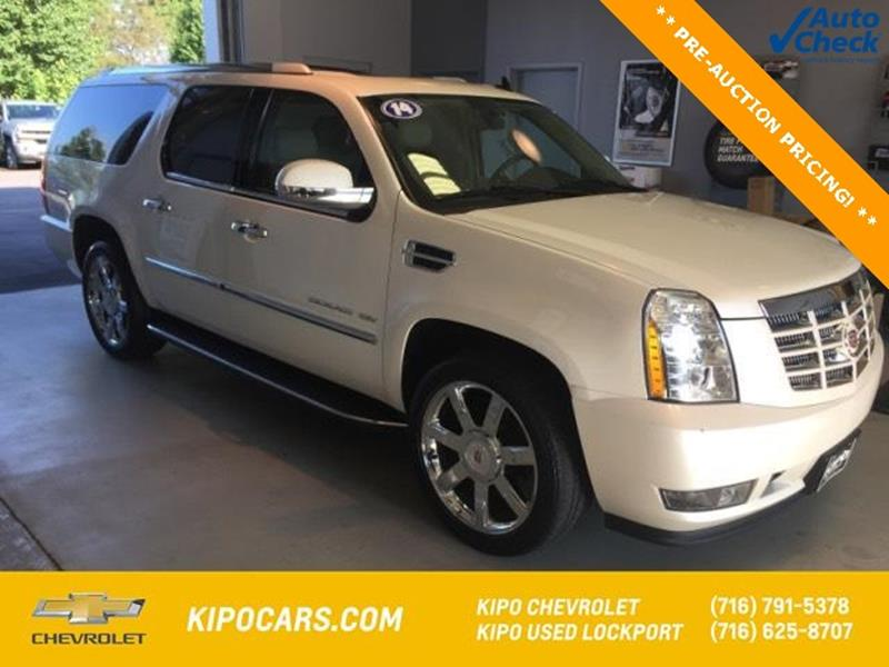 esv resale cadillac at of details kipo escalade inventory lockport in for luxury sale ny
