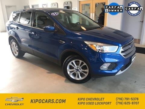 2017 Ford Escape for sale in Lockport, NY