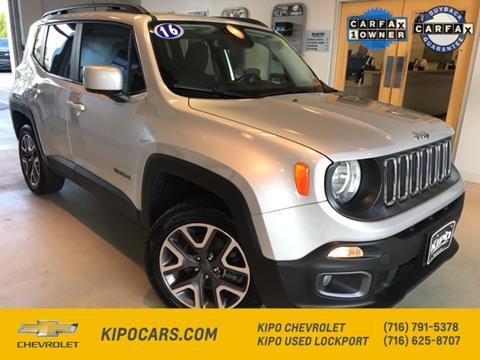 2016 Jeep Renegade for sale in Lockport, NY