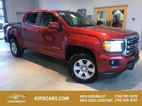 2016 GMC Canyon for sale in Lockport, NY