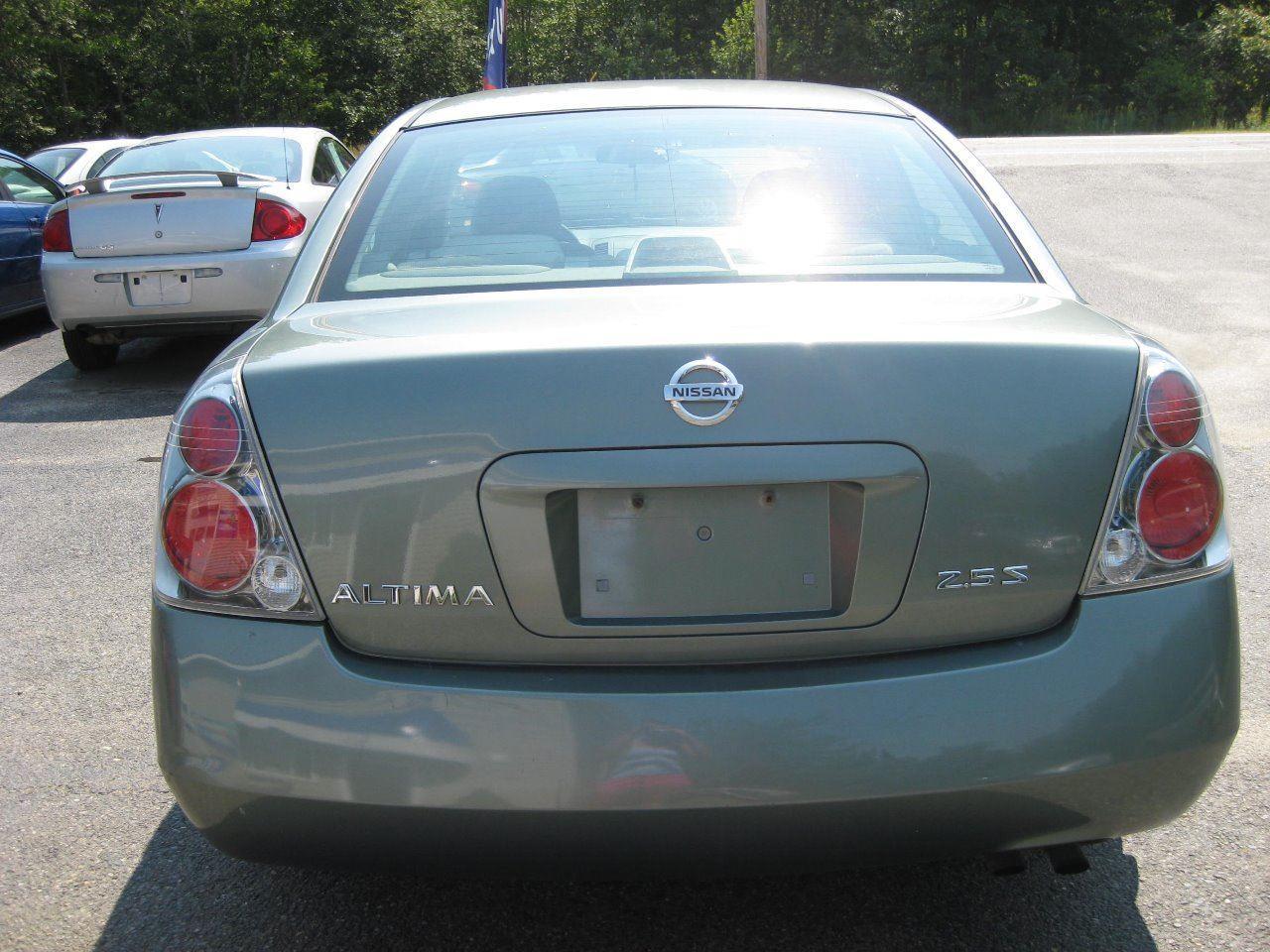 2005 nissan altima 2.5 s 4dr sedan in leeds me - morgan's auto s