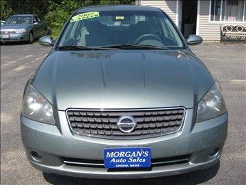 2005 Nissan Altima for sale in Leeds, ME