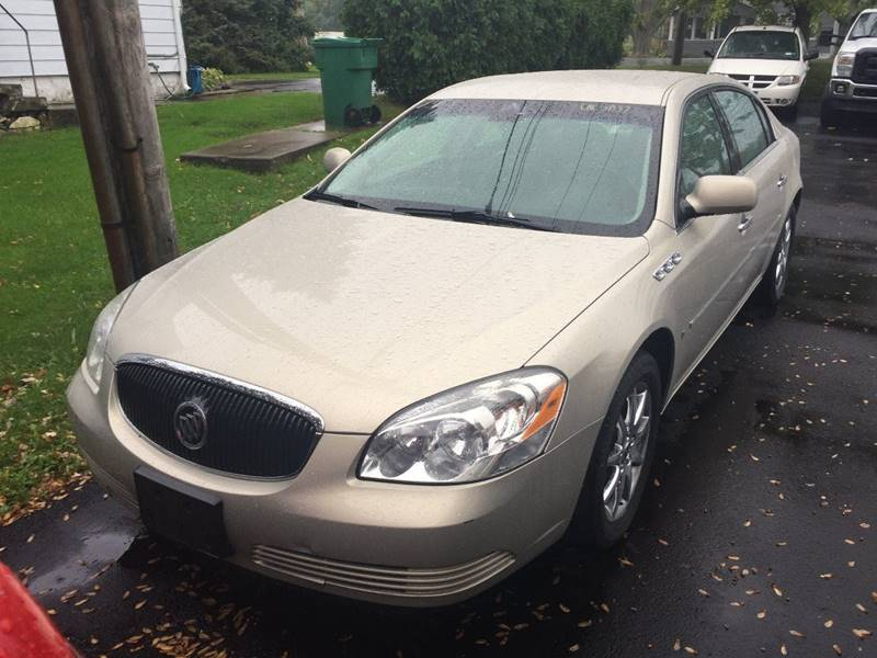 2007 Buick Lucerne for sale at JAG AUTO SALES in Webster NY