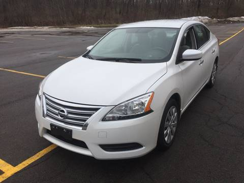 2013 Nissan Sentra for sale at JAG AUTO SALES in Webster NY