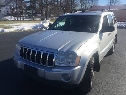 2006 Jeep Grand Cherokee for sale at JAG AUTO SALES in Webster NY