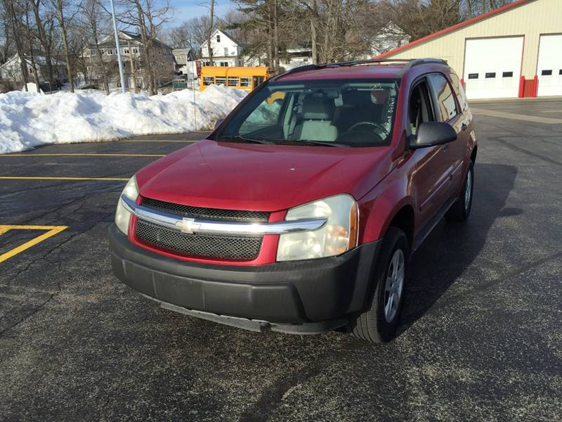 2005 Chevrolet Equinox for sale at JAG AUTO SALES in Webster NY