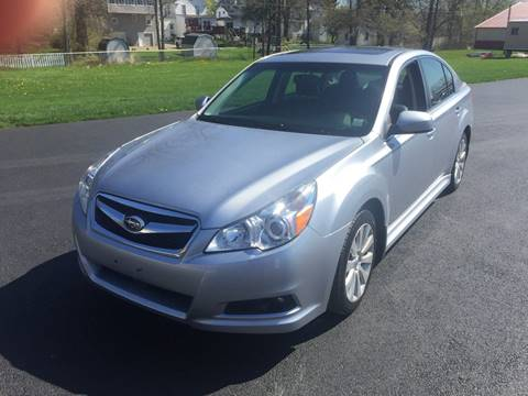 2012 Subaru Legacy for sale at JAG AUTO SALES in Webster NY