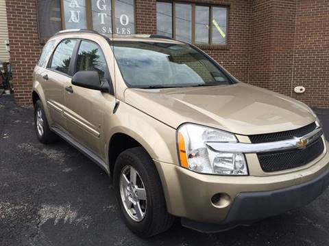 2006 Chevrolet Equinox for sale at JAG AUTO SALES in Webster NY