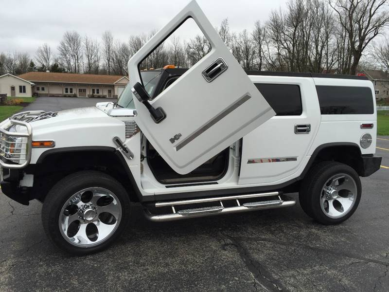 2003 HUMMER H2 for sale at JAG AUTO SALES in Webster NY