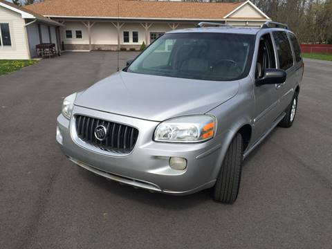 2006 Buick Terraza for sale at JAG AUTO SALES in Webster NY