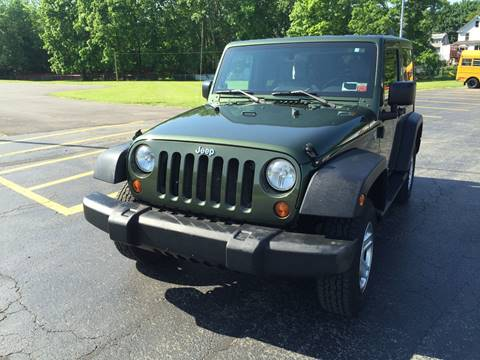 2008 Jeep Wrangler for sale at JAG AUTO SALES in Webster NY