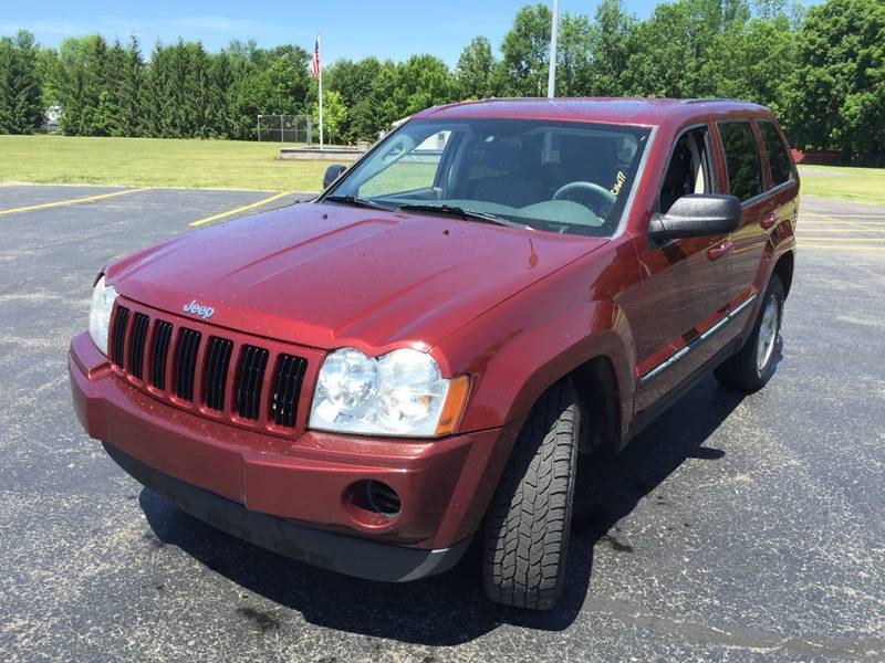 2007 Jeep Grand Cherokee for sale at JAG AUTO SALES in Webster NY