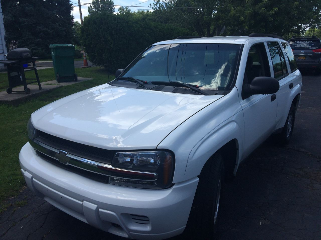 2004 Chevrolet TrailBlazer for sale at JAG AUTO SALES in Webster NY