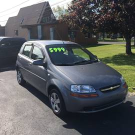 2008 Chevrolet Aveo for sale at JAG AUTO SALES in Webster NY