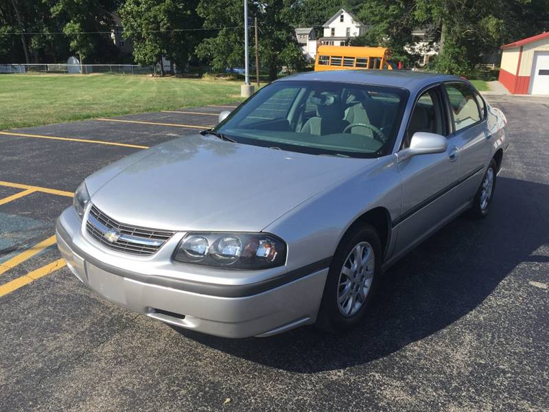 2005 Chevrolet Impala for sale at JAG AUTO SALES in Webster NY